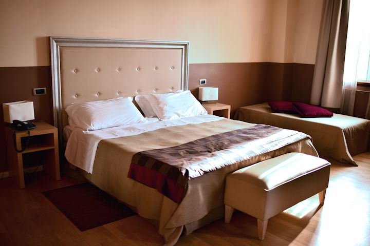 アッシジのホテルアレクサンダーの部屋の写真