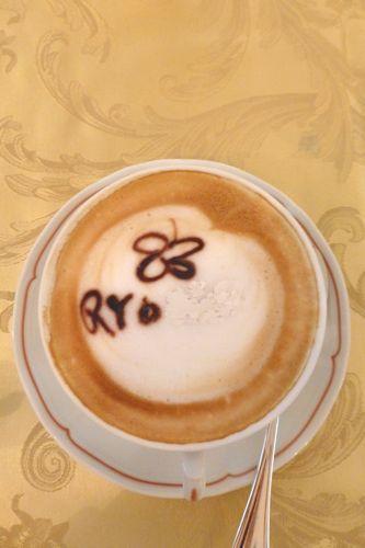 フィレンツェのホテルの朝食